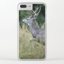 On the Run Clear iPhone Case