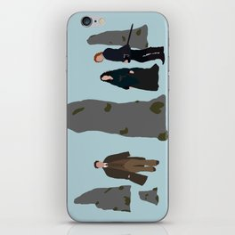 What if Your Future is in the Past? iPhone Skin