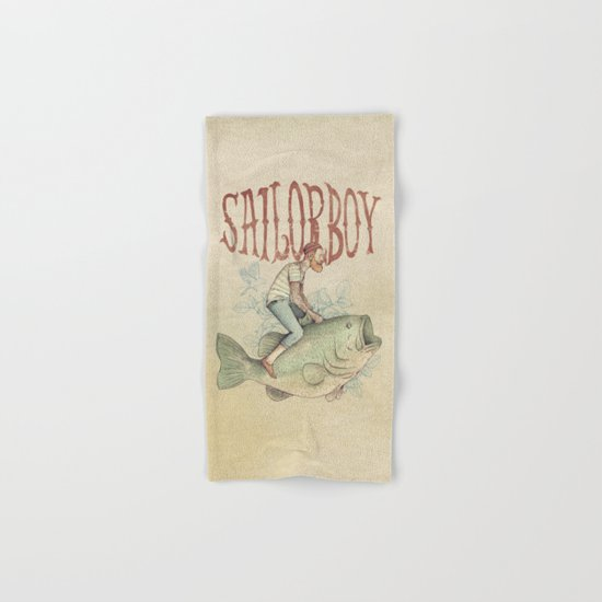 Sailorboy Hand & Bath Towel