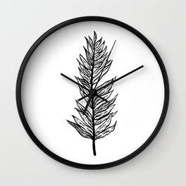 Ferns of a Feather Flock Together, II Wall Clock