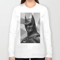 bat man Long Sleeve T-shirts featuring Bat man by Filip Peraić