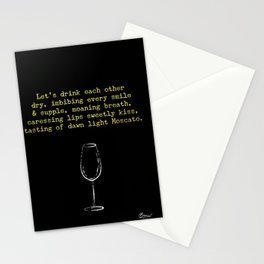 Drink Each Other Stationery Cards