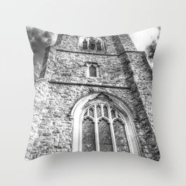 The English Church Throw Pillow