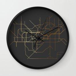 London Subway Wall Clock