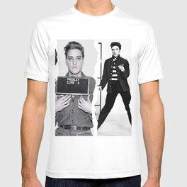 Young Elvis Presley Digital Art, Elvis Poster Mixer T-shirt