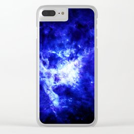 Galaxy #4 Clear iPhone Case