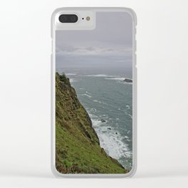 300 ft Above the Ocean Clear iPhone Case
