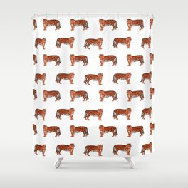 Clemson Shower Curtains Society6