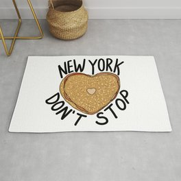 New York Don't Stop Rug