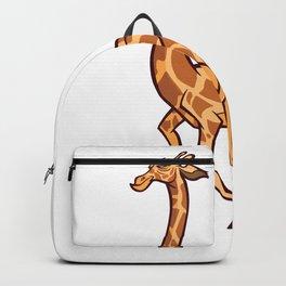 Giraffe runs Backpack