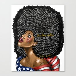 Our Lives Matter Canvas Print