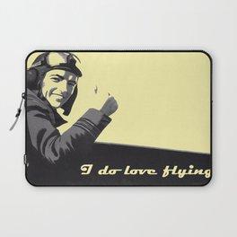 I Do Love Flying! Laptop Sleeve