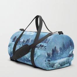 Blue Land Duffle Bag