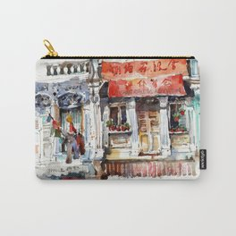 Shophouse at Maude Road, Singapore Carry-All Pouch