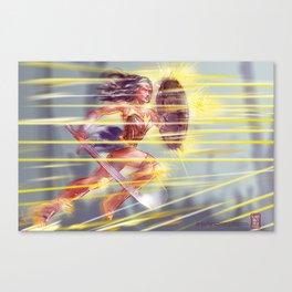 WCW Canvas Print