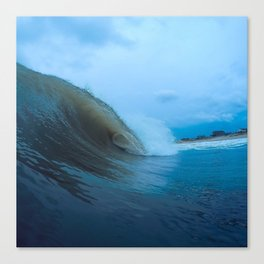 Late Summer Swells Canvas Print