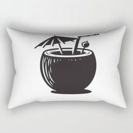 Coconut Rectangular Pillow