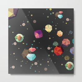 Space gems Metal Print
