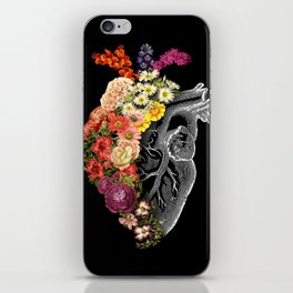 Flower Heart Spring iPhone Skin