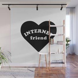Internet Friend Wall Mural