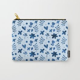 Floral Pattern #5 Carry-All Pouch