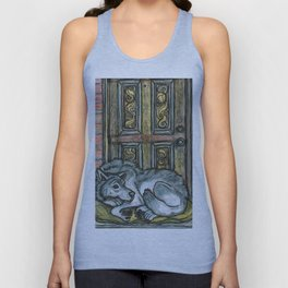 Wolf at the Door Unisex Tank Top