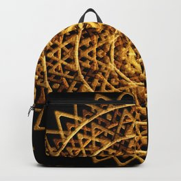Golden Harmony Disc Backpack