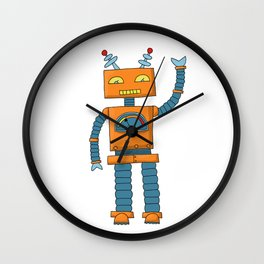 the friendly robot Wall Clock
