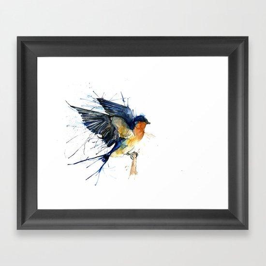 Swallow 3 Framed Art Print