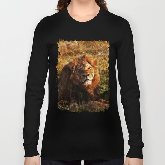 Cecil, the Lion Long Sleeve T-shirt