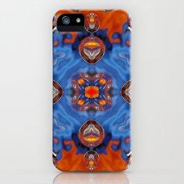 Kap Kaleidoscope Abstract 01 iPhone Case