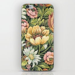 Grandma's Vintage Floral Couch iPhone Skin