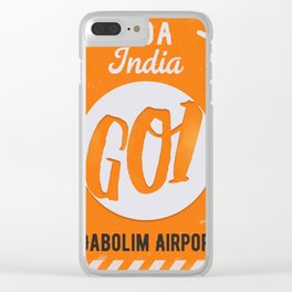 GOI GOA orange Clear iPhone Case