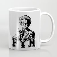 health Mugs featuring For Your Health!     Brule by Silvio Ledbetter