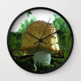 Mushroom I Wall Clock
