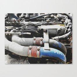 The engine revives again Canvas Print