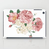 wwe iPad Cases featuring Watercolor rose by eARTh