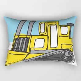 Bulldozer Rectangular Pillow