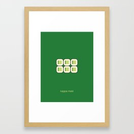 kappa maki Framed Art Print