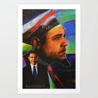 mr president Art Print