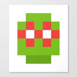 hero pixel green red Canvas Print