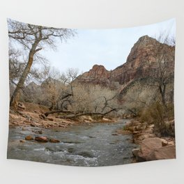 North Fork Virgin River, Zion National Park Wall Tapestry