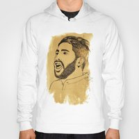 real madrid Hoodies featuring Sergio Ramos - Real Madrid - Spain - Footballer by Matty723