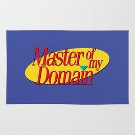 Master of my domain Rug