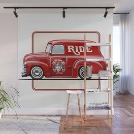 little cute truck Wall Mural