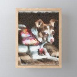 Sara Framed Mini Art Print