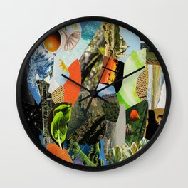 Collage 5 Wall Clock