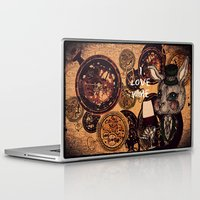wine Laptop & iPad Skins featuring Wine Lovers by AKIKO