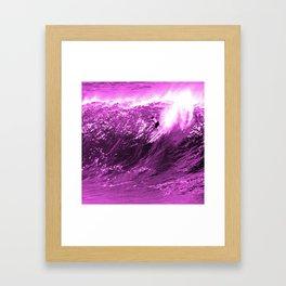 Big Wave Day Framed Art Print