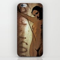 nudes iPhone & iPod Skins featuring Laser Nudes Art by Falko Follert Art-FF77